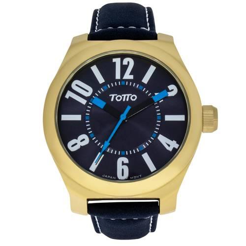 Reloj Dorado/Azul - Tr026-4