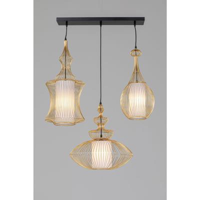 Lámpara Swing Iron 3 oro