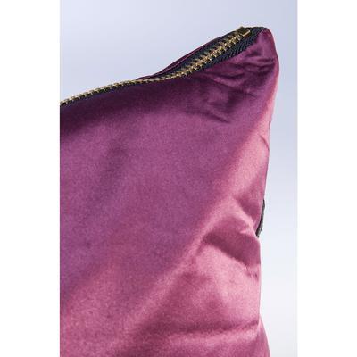 Cojines Zipper púrpura 45x45cm