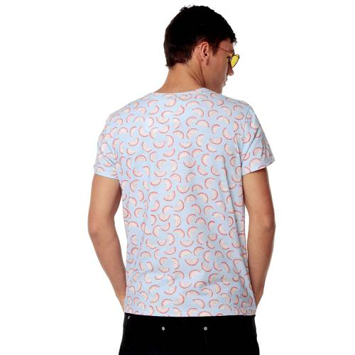 Camiseta Exotic Fruits Rosé Pistol Unisex - Azul