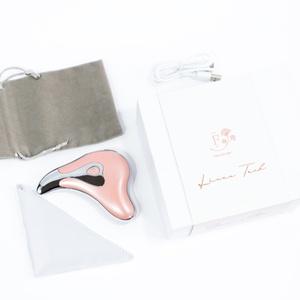 Masajeador Facial Lit Led Gua-Sha rosa x 1