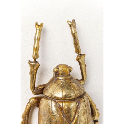 Decoración pared Plant Beetle oro