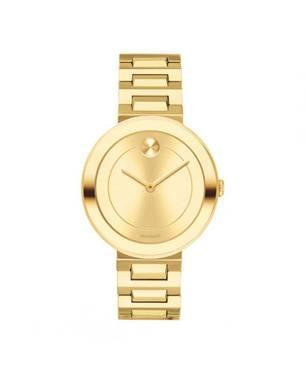 Reloj análogo dorado 0498