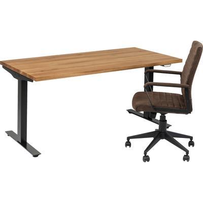 Mesa Office Jackie roble negro 160x80