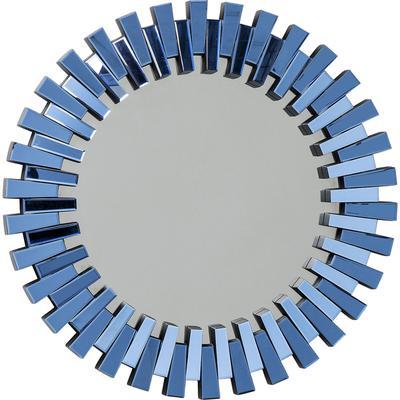 Espejo Sprocket azul Ø92cm