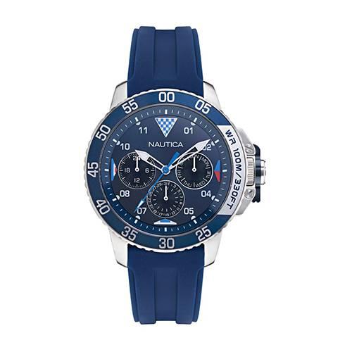 Reloj Bal harbour Azul - Plateado