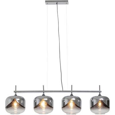 Lámpara Chrome Goblet Quattro Ø25cm