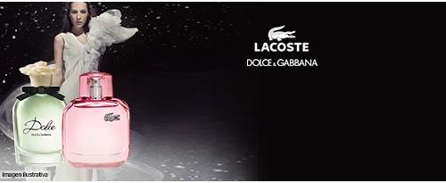 LACOSTE, DOLCE GABBANA y más perfumes Mujer
