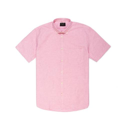 Camisa Leroy Manga Corta - Rojo