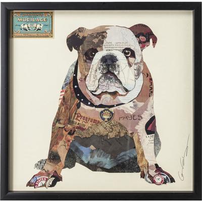 Cuadro Art The Dog 61x61cm
