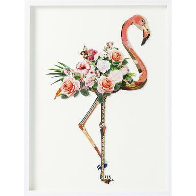 Cuadro Art Flamingo 100x75cm