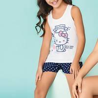 Pijama Conj / Short / Sisa Azul