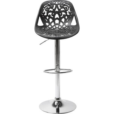 Taburete bar  Ornament negro