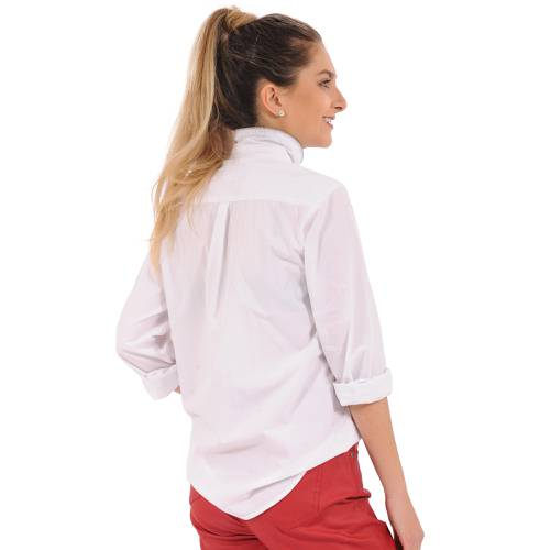 Camisa Manga Larga Rosé Pistol para Mujer  - Blanco