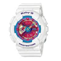 Reloj baby-g anadigi fucsia-blanco 2-7A