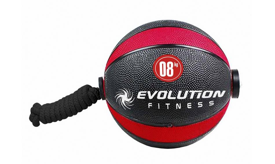 Balón rebote con lazo EVOLUTION 8kg