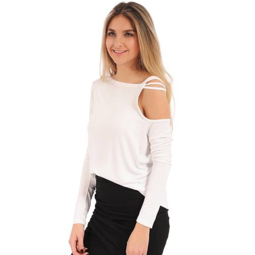 Blusa Pipper Rosé Pistol Para Mujer - Blanco