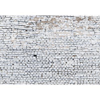Papel de Colgadura White Brick