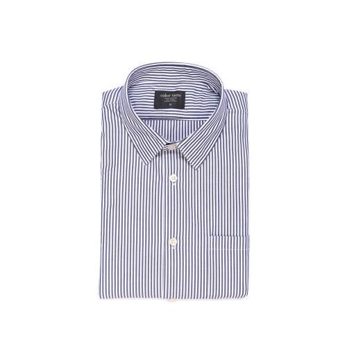 Camisa Estampada Rayas - Azul