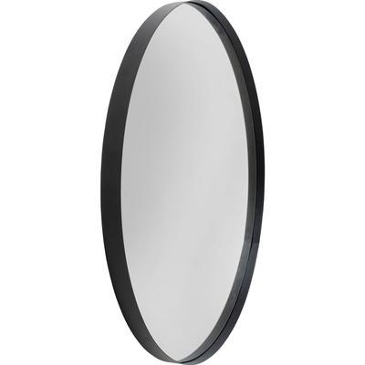 Espejo Ombra Soft negro 100Ø
