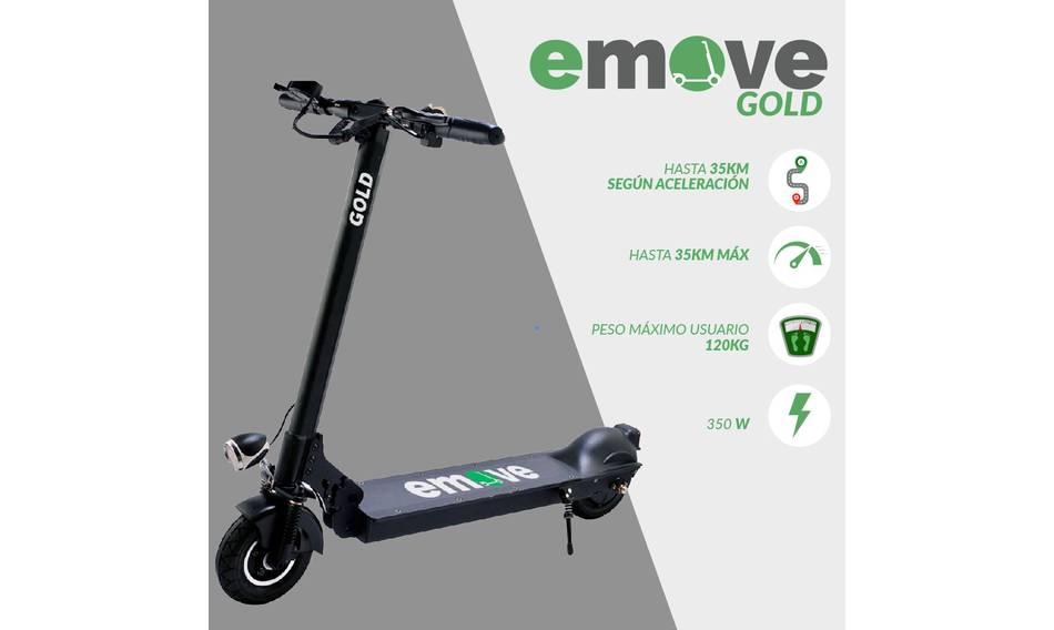 Scooter eléctrica Aktive Gold Emove