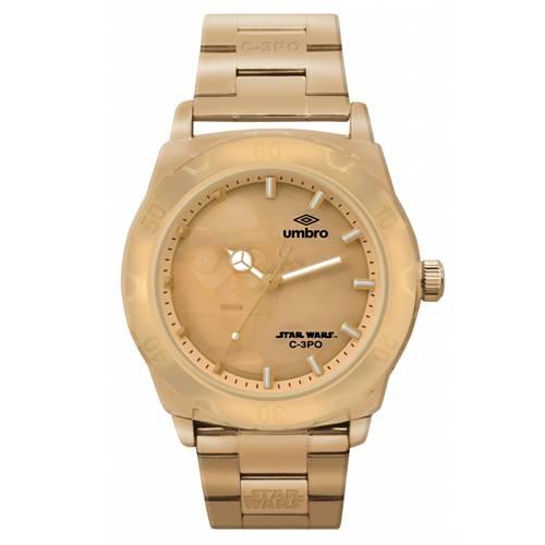 Reloj Análogo Dorado-Dorado Umb-Sw04-3