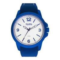 Reloj análogo blanco-azul 23-4