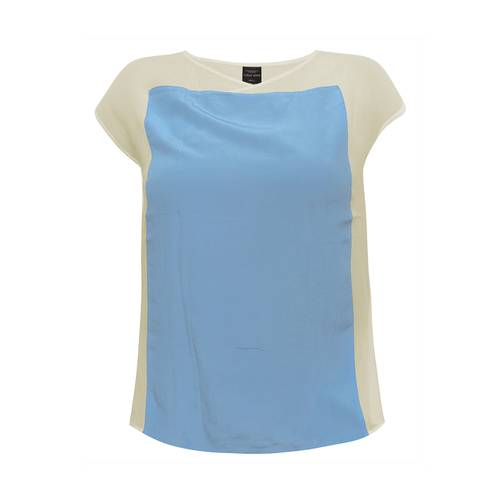 Blusa Color Siete para Mujer - Beige