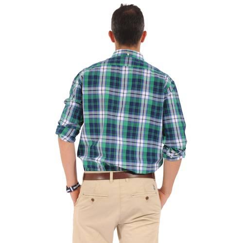 Camisa Manga Larga Wainscott Jack Supplies para Hombre- Verde