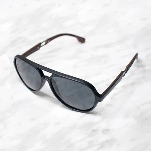 Gafas de sol polarizada con filtro UV 400 Negro - Marrón