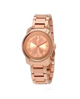 Reloj análogo oro rosa-rosa 0441