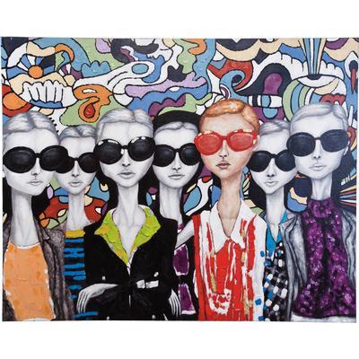 Cuadro Sunglasses 120x150cm