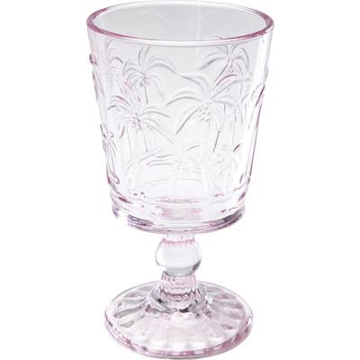 Vaso vino tinto Palm Tree rosa