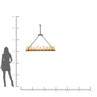 Lámpara Candle Light 20