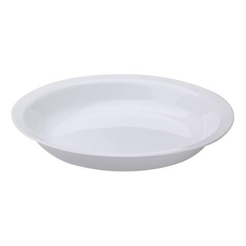 Vajilla 16 Pz Redonda Blanca + 4 Platos Pasta Redondos 22Cm