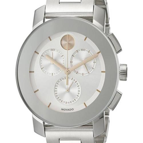 Reloj análogo plateado-plateado 0356