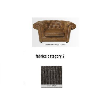 Poltrona Cambridge, tela 2 - Baron 9700 (115x76x92cms)