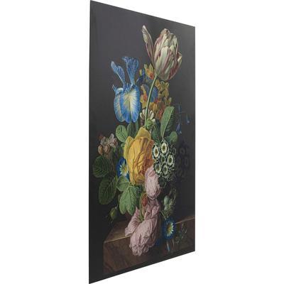 Cuadro cristal Flowers Harmony 100x150cm