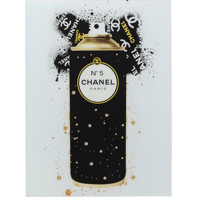 Cuadro cristal Coco Gold Spray 60x80cm