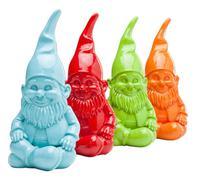 Alcancía  Enanos sentados colores 27 cm - varios