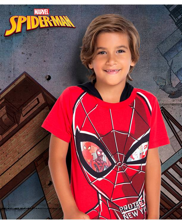 Camiseta Niño Spiderman