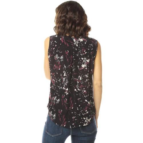 Blusa Estampada Color Siete para Mujer-Negro