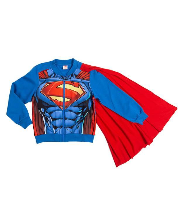 Chompa Con Capa Caminador Superman