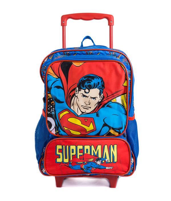 MOCHILA SUPERMAN RUEDA