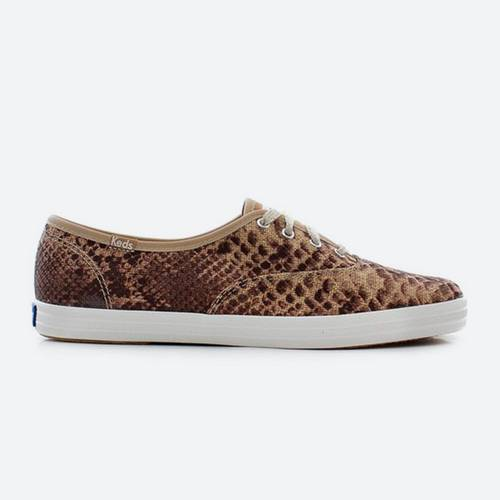 Tenis Keds Wf52504 Brown Café