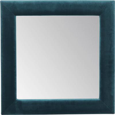 Espejo Velvet petróleo cuadrado 100x100cm