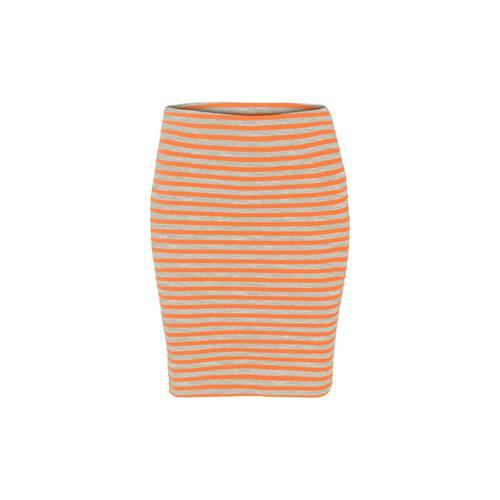 Falda Color Siete para Mujer - Naranja